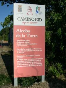 El camino del Cid en Alcoba de la Torre