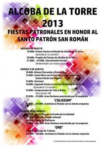 Fiestas Alcoba de la Torre 2013