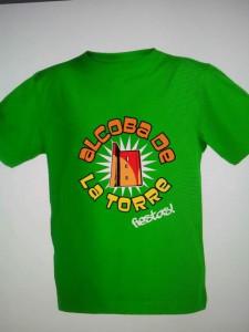 Camiseta fiestas Alcoba 2014