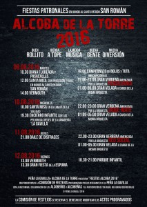 Fiestas alcoba 2016